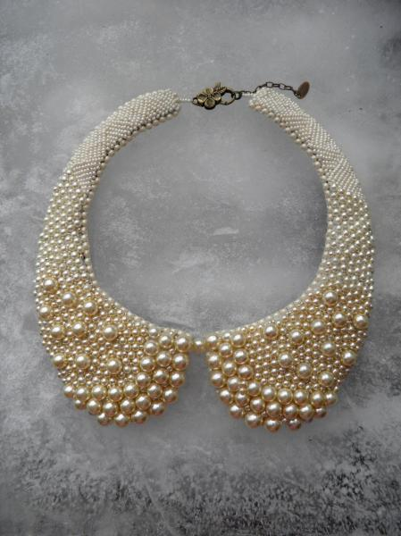 "PIAF - Collier Perles ""Col"""