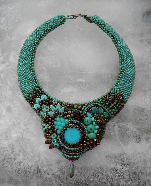 PIAF - Collier Turquoise